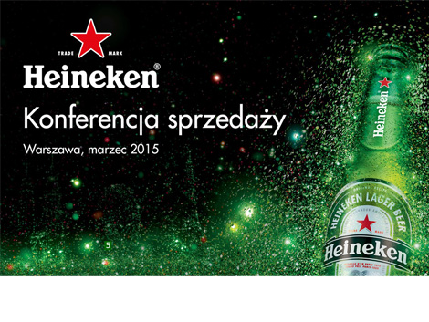 Prezentacja Heineken - power point